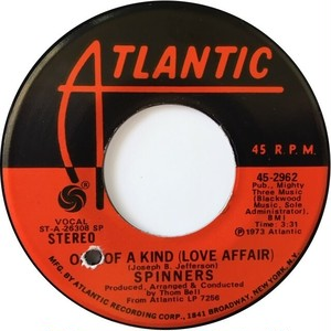 Spinners – One Of A Kind (Love Affair) / Don't Let The Green Grass Fool You