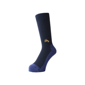 WHIMSY - 42/1 EMJAY SOCKS (Navy)