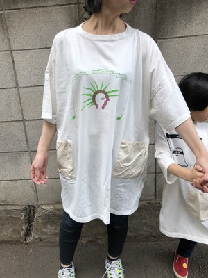 Ladies BIG Tee [son][noise] by新保泰治