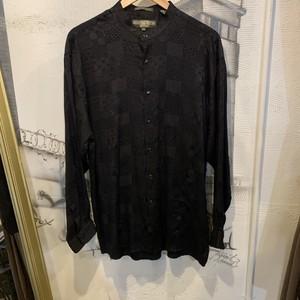 stand collar design shirt