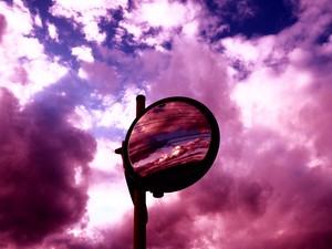 夕陽 (紫) 15