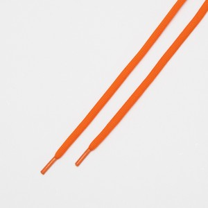 """OVAL LACES SOLID """"ORANGE"""""""