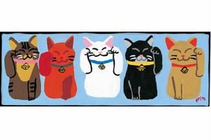 山下絵理奈 ポストカードセレクション招き猫編(5枚セット)
