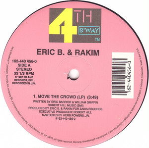 Eric B. & Rakim ‎/ Move The Crowd / Paid In Full (Re)