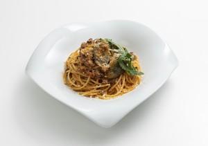 冷凍パスタソース「鴨挽肉と茄子のラグー ミートソース」