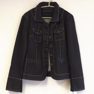 デニムジャケット ブラック フリーサイズ