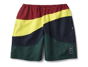 FTC(エフティーシー) / CURVE BEACH SHORTS -RED-