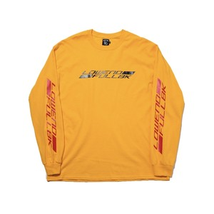 FULL-BK  -  LOWEND L/S TEE  (YELLOW) -