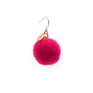 Felt Ball Hook - Pink