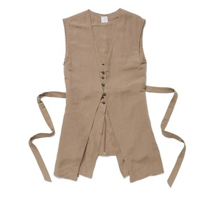 Layered Vest - NUDE