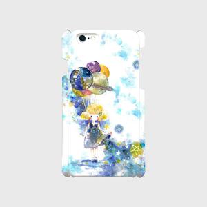 iPhoneケースPlus【宇宙と女の子】