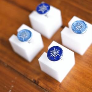 K様専用ページ:封蝋のカフス(雪の結晶)