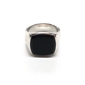 TOM WOOD CUSHION BLACK ONYX RING