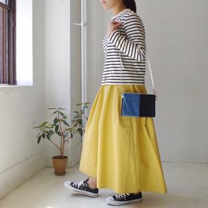 <予約> タックフレアーロングスカート