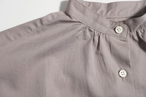 Supima Satin Tunic Shirt