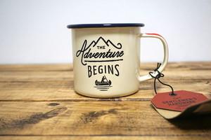 【輸入マグカップ】アウトドア ホーロー マグカップ Gentlemen's Hardware Adventure