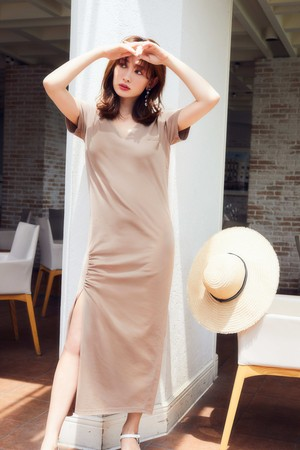 Relaxed T-Shirt Long Dress