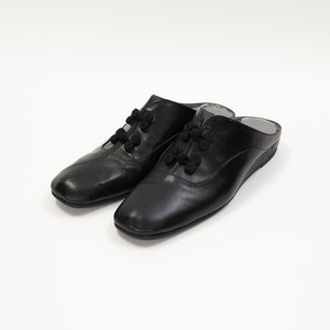 Room Shoes -Black × Black-