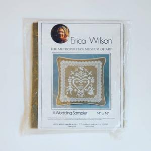 クロスステッチ刺繍キット Erica Wilson  A Wedding Sampler