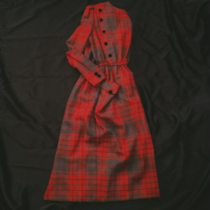 USED VINTAGE/RETRO CHECK DRESS