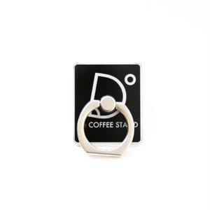 I'm coffee stand Mobile Ring ロゴ(ブラック)
