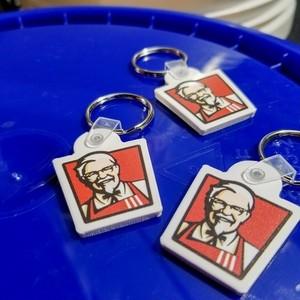U.S KFC ケンタッキー キーリング