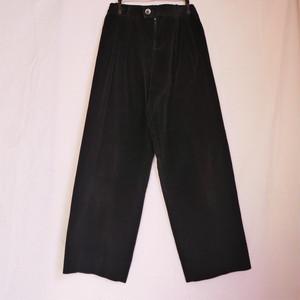 """YSL 1970's """"rivegauche"""" Corduroy Pants -Black-"""