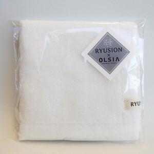 RYUSION×OLSIA Premium Cotton ハンカチタオル