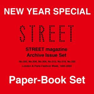 STREET magazine Archive Paper-Magazine(紙版) 6冊 Set