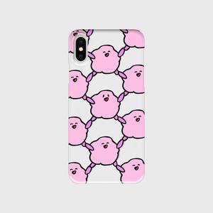 ファジー スマホケース SmileXSmile(iPhone)