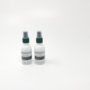 SUO  植物性アルカリイオン除菌スプレー_60ml×2本セット