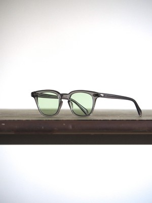 60's GI Glasses Clear Gray