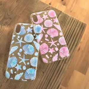 iPhone スマホケース 【shell】 iPhone5/5s/5c/SE/6/6s/7/8/X/XS