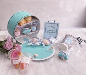 Ginger Garden tea party  box (BLUE)