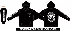 【40%OFF】MONSTLLOW ZIP PARKA