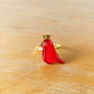 赤い小鳥リング〜メアリー〜