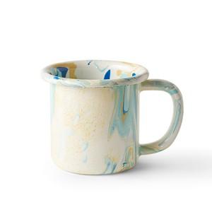 BORNN / NEW MARBLE - Small Mug - Lemon Cream