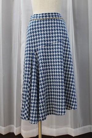 千鳥ジャガードスカート
