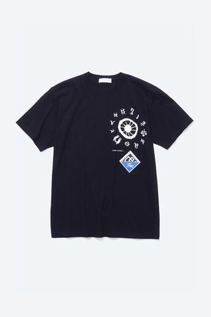 【TOGA VIRILIS】PRINT T-SHIRT