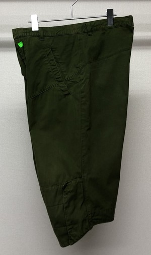 1990s W&LT CURVED CROPPED TROUSERS