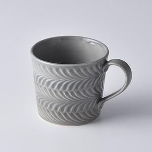 ローズマリー グレーマグカップ【波佐見焼き】323084231