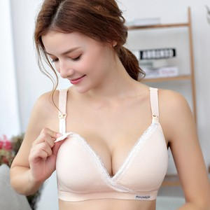 【Bras】Front Hook Breastfeeding Mommy Bust non-wired-bras