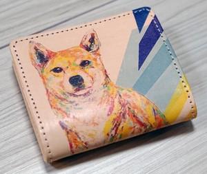 本革コインケース  [ 柴犬 Hana ]nijisuke