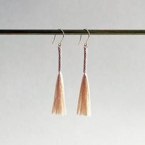 tassel 【stick】 ピアス/イヤリング sakura