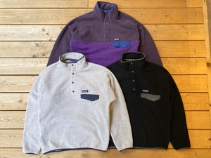 Patagonia / M's Light Weight Synchilla Snap-T Pullover