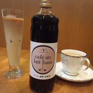 謎屋珈琲店カフェオレベースボトル(4倍希釈用・600ml)
