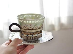 太陽ホタルカップ&ソーサー