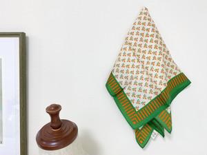 Vintage scarf <petit flower>