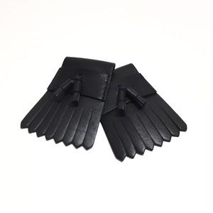 タッセルキルティタン【BLACK×BLACK】
