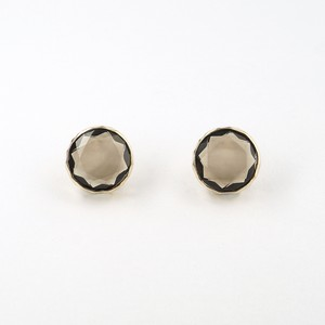 Marbles smoky quartz pierce